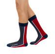 No Regrets luxury inspirational mens gift socks by Posie Turner