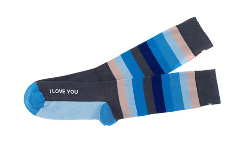 I Love You Men's Socks