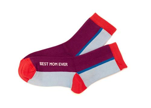 Best Mom Ever Women's Anklet Socks