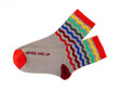 Never Gift Up Inspirational Gift Socks by Posie Turner