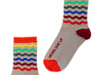 Never Give Up Motivational Socks by Posie Turner