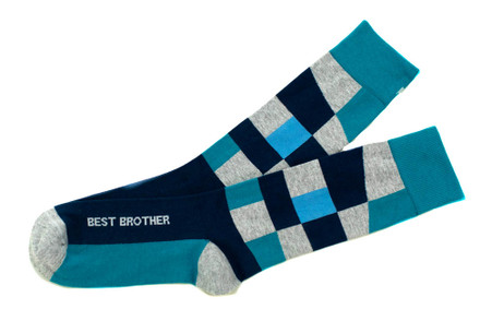 Best Brother Socks by Posie Turner - Gift Socks for your Brother and Best Man