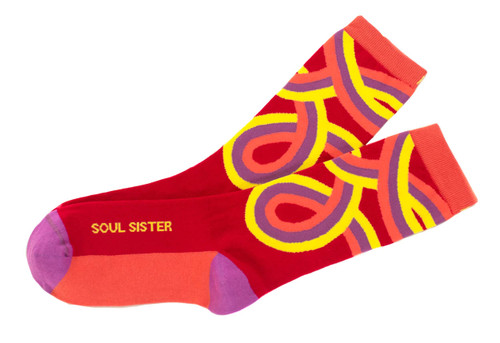 Soul Sister inspirational gift socks by Posie Turner