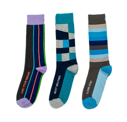 Posie Turner special gift sock set for your favorite brother