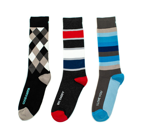Unique gift sock set for your Dad by Posie Turner
