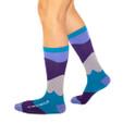Go with the flow karma socks by Posie Turner