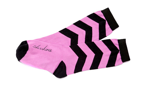 Take a Chance inspiring socks by Posie Turner.