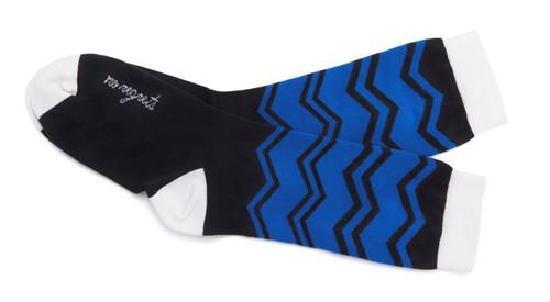 No Regrets inspirational socks by Posie Turner.