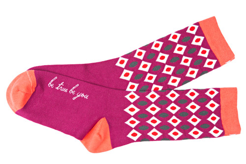 Be True Be You Women's Socks