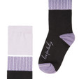 Live for Today inspiring gift socks by Posie Turner.