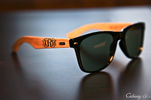 f49d2361c1 Groupon AU Personalized Sunglasses - RayBan Monogram - Cabanyco