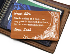 Groupon AU Personalized Wallet Card- Like Branches on a Tree