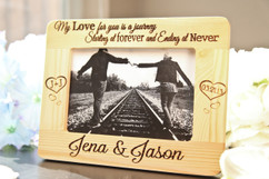 LUX - Personalized Picture Frame - My love for you