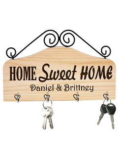 LUX - Personalized Family Key Holder - Home Sweet Home