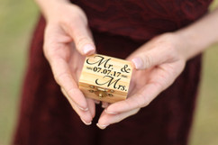 Personalized Trinket Box - Mr & Mrs