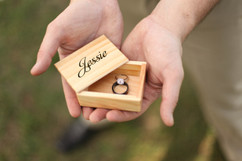 LUX - Personalized Jewelry Box - Name