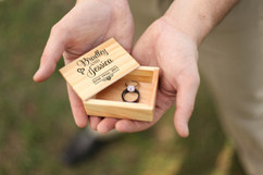 LUX - Personalized Jewelry Box - Stacked name