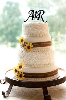 Groupon AU - Personalized Cake Topper - Initials