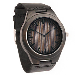 Wood Engraved Personalized Bamboo Watch W#66 - Apex