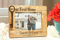 Groupon AU/NZ  - Personalized Picture Frame - Our First Home