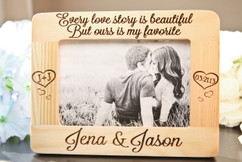 Groupon AU/NZ  - Personalized Picture Frame - Every Love Story lavanderia