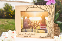 Groupon AU/NZ  - Personalized Picture Frame - Love tree