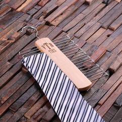 Groupon AU/NZ - Personalized Tie Hanger - Monogram
