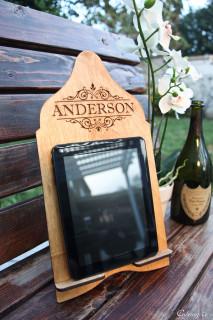 LUX - Cookbook/iPad Stand - Vine Name