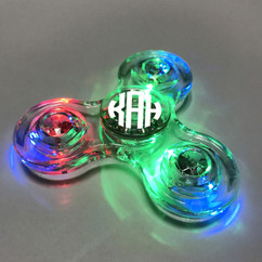 Grpn BE - Transparent LED Fidget Spinner