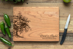 Cherry Personalized Cutting Board ~ Willow Tree