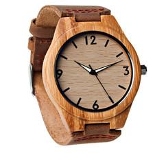 Grpn - Wood Engraved Watch Glow Dials W#68 - Aura