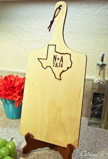 LUX - Personalized Serving Tray - State