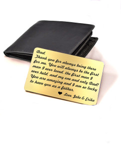 Grpn BE - Personalized Wallet Card  - Thanks for being there