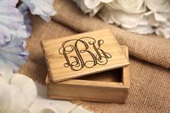 Grpn BE - Personalized Jewelry Box - Monogram