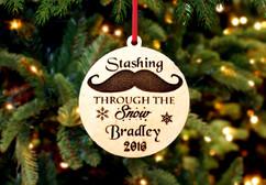 Grpn BE - Engraved Christmas Ornament -  Stashing