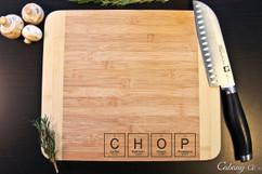 CHOP Personalized Cutting Board HDS