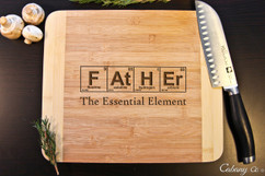 Father Personalized Cutting Board HDS
