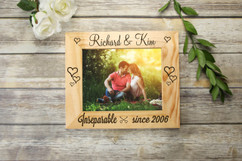Personalized Picture Frame - Inseparable Since
