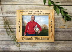 Personalized Picture Frame - Coach