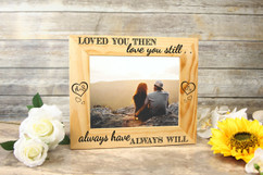Personalized Picture Frame - Always Have, Always Will