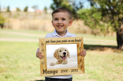 Personalized Picture Frame - Pets Leave Paw Prints