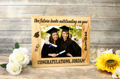 Personalized Picture Frame - The Future Looks Outstanding