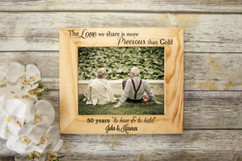 Personalized Picture Frame - To Have & To Hold