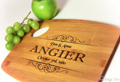 Handle Family Personalized Cutting Board
