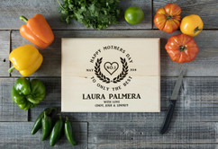 Basswood Personalized Cutting Board - Only the Best