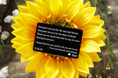 Personalized Wallet Card - God Gave Me You