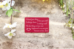 Personalized Wallet Card - Always Have, Always Will