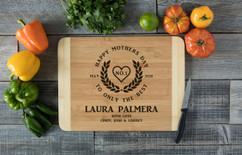 HDS Personalized Cutting Board - Only the Best Mother's Day