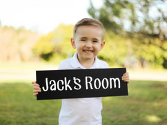 Family Sign - Children's Room Sign