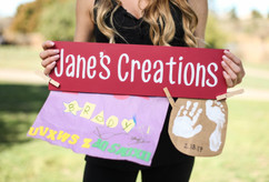Family Sign - Kid's Art Sign
